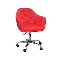 Косметическое кресло HC830K  красный