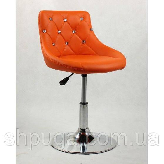 Парикмахерское  кресло HC931N оранжевое