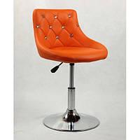 Парикмахерское  кресло HC931N оранжевое, фото 1