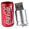 Флешка металлическая 16 Гб  кока кола, coca cola