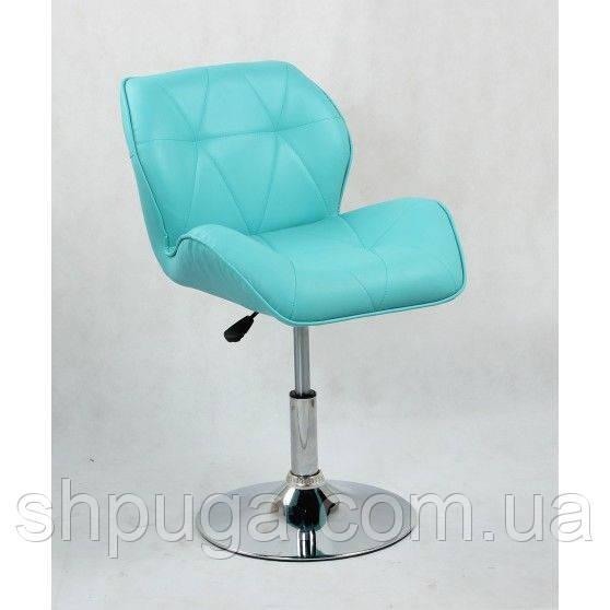 Кресло парикмахерское HC-111N бирюзовое