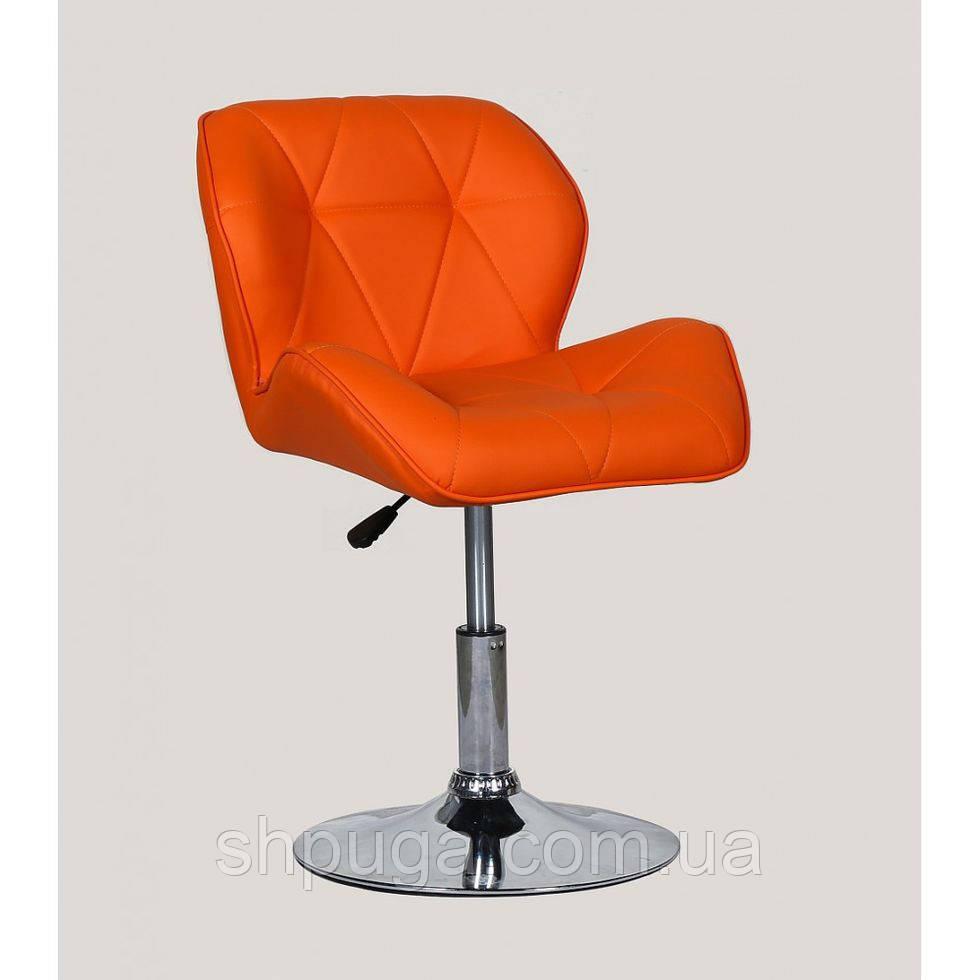Кресло парикмахерское HC-111N оранжевое