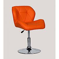 Кресло парикмахерское HC-111N оранжевое, фото 1