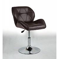 Кресло парикмахерское  HC-111N коричневое, фото 1
