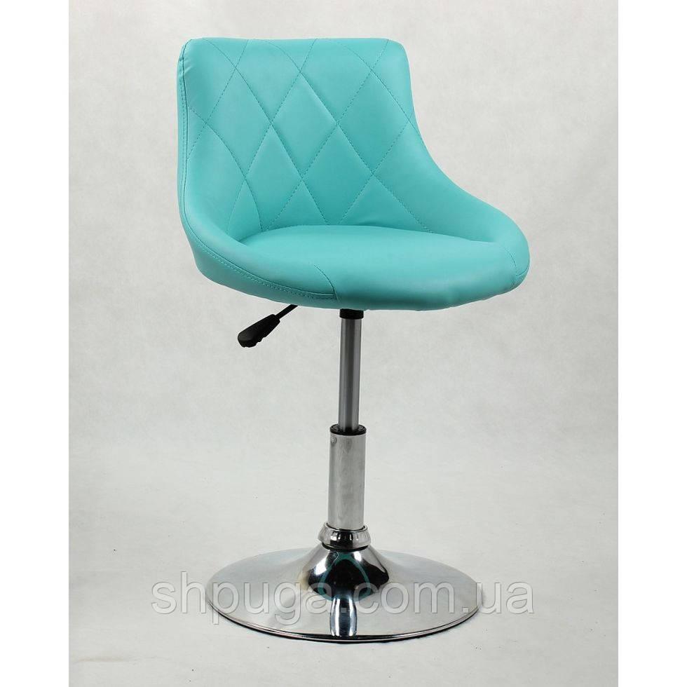 Кресло косметическое HC1054N бирюзовое