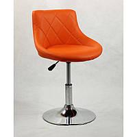 Кресло косметическое HC1054N оранжевое, фото 1