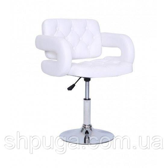 Кресло парикмахерское HC8403N белое