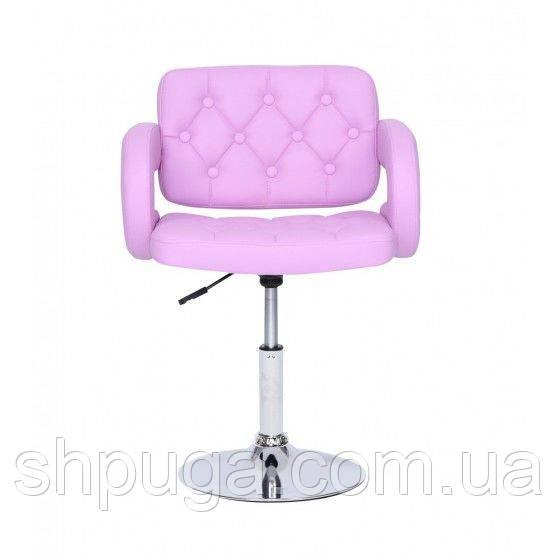 Кресло парикмахерское HC8403N лавандовое