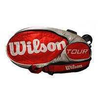 Сумка для большого тенниса на 4 ракетки Wilson Tour
