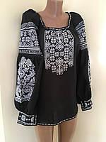 Вишита сорочка жіноча в стилі Бохо 46-48 розмір, фото 1