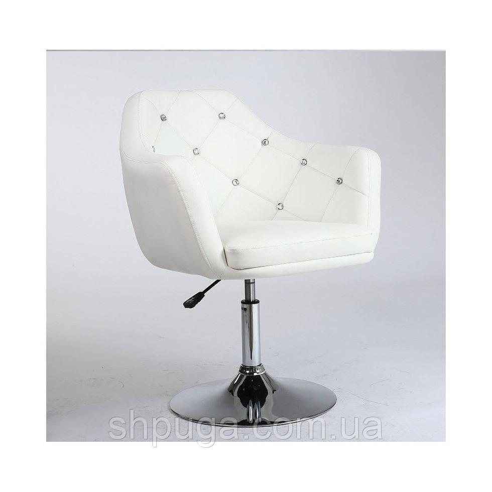 Перукарське крісло HC830 біле