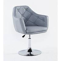 Парикмахерское кресло HC 831 серое, фото 1