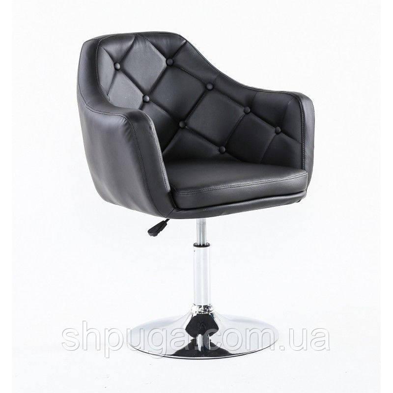 Парикмахерское кресло HC 831 черное
