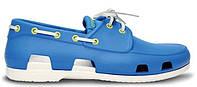 Мужская обувь крокс Crocs голубые