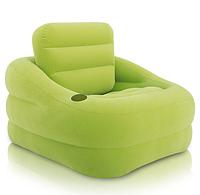 Надувное кресло Intex 68586 приятного лаймового цвета