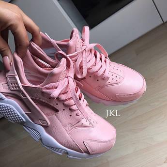 Кроссовки женские Nike air Huarache Pink Rose