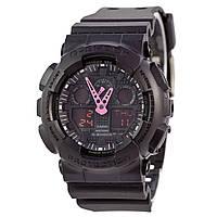 Унисекс кварцевые наручные часы Casio G-Shock GA-100C. Копия AAA класса