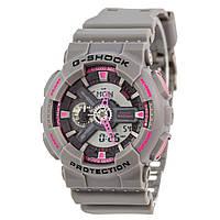Унисекс кварцевые наручные часы Casio G-Shock GA-110TS-8A4ER. Копия AAA класса