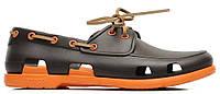Мужская обувь крокс Crocs коричневые