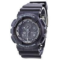 Мужские кварцевые наручные часы Casio G-Shock GA-100-1A1ER. Копия AAA класса