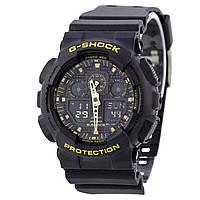 Мужские кварцевые наручные часы Casio G-Shock GA-100CF. Копия AAA класса