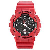 Унисекс кварцевые наручные часы Casio G-Shock GA-100B-4AER. Копия AAA класса