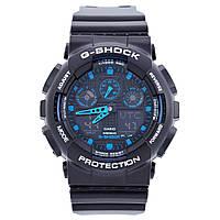 Мужские кварцевые наручные часы Casio G-Shock GA-100. Копия AAA класса