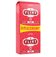 """Прокладки для критических дней """"FLIRT Ultra DUO"""""""