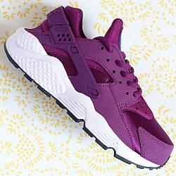 """Кроссовки женские Nike Air Huarache Run """"Mulberry/Soar Venice"""""""