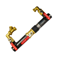 Байпас DN 50 під кран в комплекті L=410 мм