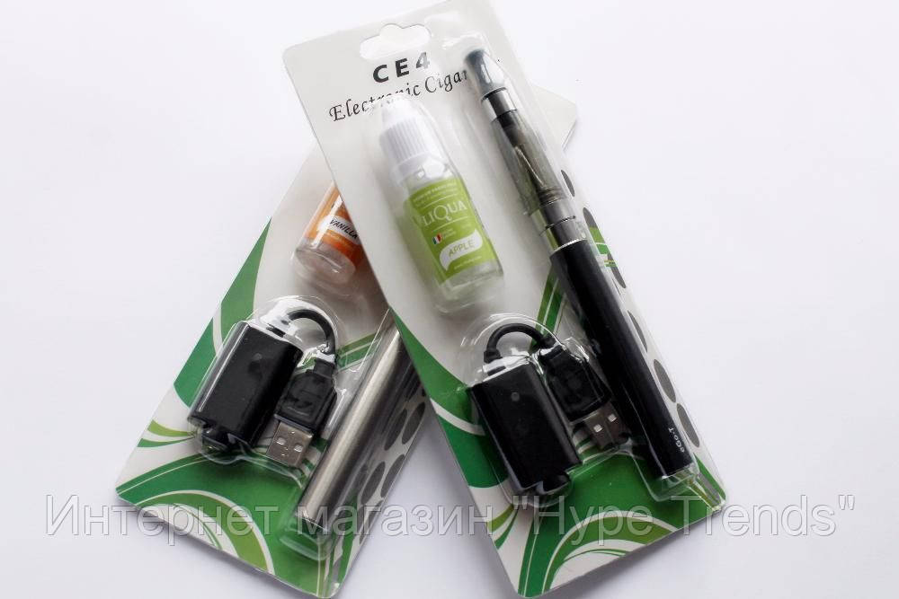 Электронная сигарета eGo CE-4 + Жидкость Liqua 10ml. Вейп