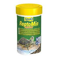 Tetra ReptoMin Junior корм для молодых водных черепах 250мл