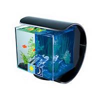 Tetra Silhouette дизайнерский аквариум с LED освещением, 12л