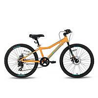 Велосипед 24'' PRIDE PILOT 7 оранжево-синий матовый 2016