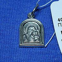 Иконка из серебра Богородица 40500мм без камней