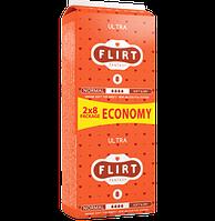 "Прокладки для критических дней ""FLIRT Ultra DUO"" Soft & Dry, 4, 16шт, 260мм"