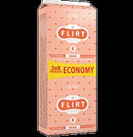 """Прокладки для критических дней """"FLIRT Ultra DUO"""" Cotton & Care, 4, 16шт, 260мм"""