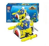 """Конструктор Brick """"Подводная техника"""" Подводный катер (60 деталей)"""