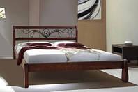 Кровать Ретро с ковкой