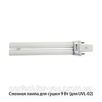Сменная ультрафиолетовая лампа.Электронный балласт Мощность: 9 Вт Lamp_9W-M (индукционная)