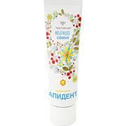 """Зубная паста """"Апидент"""" с экстрактом прополиса и цветочной пыльцы 100 гр."""