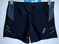Плавки-шорты юниор Atlantis черный с серым