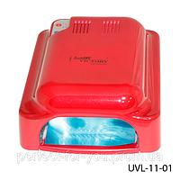 Шестиламповый стационарный УФ аппарат для двух рук 54 Вт. Lady Victory UVL-11-01