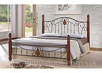 Кровать кованная, железная Агнес (Agnes)