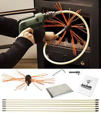 TORNADO Hansa роторный набор для чистки дымохода под дрель (Литва), фото 3
