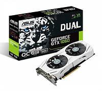 Видеокарта ASUS GeForce GTX 1060 Dual OC 6GB GDDR5 В НАЛИЧИИ