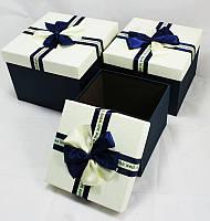Подарочная коробка (квадратная-24x 24x18cm - 3шт)