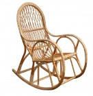 """Кресло качалка из лозы """"КК-1"""" для сада"""