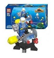 """Конструктор Brick """"Подводная техника"""" Подводный исследователь (59 деталей)"""