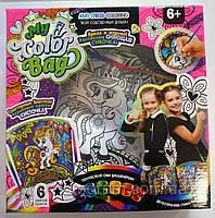 """Творчество. Раскраска сумки """"My Color Bag"""" мини  Пок /5/()"""